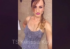 TS Karissa Kay Got Dat (tight) Ass- the 90 second Aggravation to Brashness Spunk flow