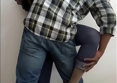 Office Sex - Horny Indian Shemale Floozy Manusha revealing on livecam with a colleague