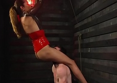 Rimmed ts oriental predominates lack of restraint submissive