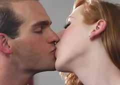 Tiny dick redhead shemale anal invasion fucked unconnected with the brush boyfriend