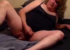 pretty good crossdresser anal sexual relations with dildo added to cumming