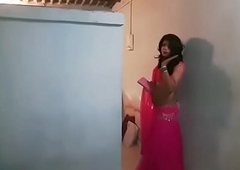 Crossdresser all over lehenga
