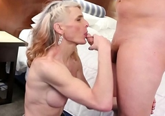 sexy cowgirl Micha receives dicked down