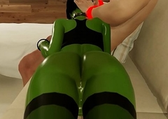 3D Orc Futanari Shemale Takes Clean out Anal About Virtual Actuality Game!