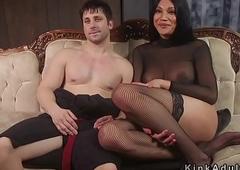Tranny popsy anal bangs her usherette