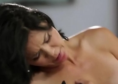 Dana Vespoli previously to fustigate dancer in sinful casual fucking with redhead big-busted wireless