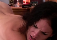 Rimmed tranny Mummy makes her partner cum