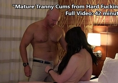 TS Kimber Haven Cums Hard from Impenetrable depths Fucking