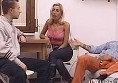 Roberta Cavalcante - Sexy Italian T-Slut in threesome