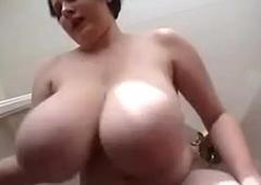 Arrogantly Huge Indecision Tits By a German Milf