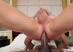 Shagging and spunking on t-girl