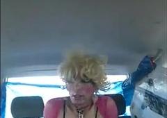 quotParkingquot-in-PinkBlack-Hooker-Costume-amp-6quot-Heels-22