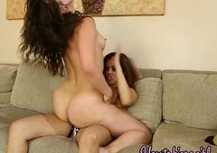 hot lesbians enjoying with the addition of playing with till the end of time other.HD