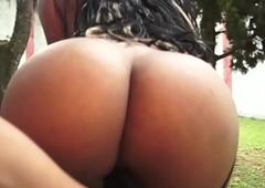 Brazilian Shemale Lohara Lomark Bonks Guy Bareback