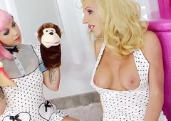 Tgirl prettiest fetish mollycoddle