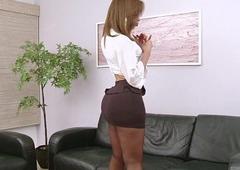 Gabrielli Bianco and her massive she-cock