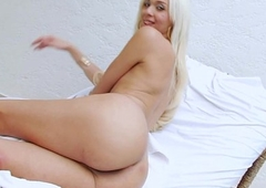 Lavishly suspended TS Britney Colucci likes assfuck
