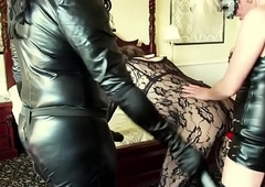 emmaleetv001 - Wireless Disintegrated Spanked And Fucked With Strapon