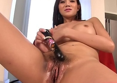 Post-Op Ladyboy With A Sextoy