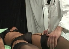 Aphoristic tits tranny analyzed away from a doctor