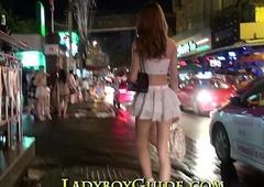 Thailand Ladyboy Wanks Adorable Bushwa