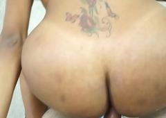 Latina Ladyboy Mylla Pereira Barebacked