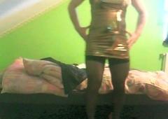 new underwear and shiny attire