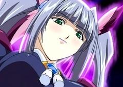 Hentai girl fucked by futanari girl