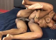 Sex-craving lady-boy going bad