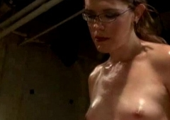 Ass, fur pie &amp_ indiscretion domination by her ever-hard t-girl cock