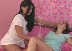 Sexy ignorance neonate goes crazy jerking