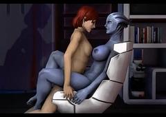 3d Futa Orgy