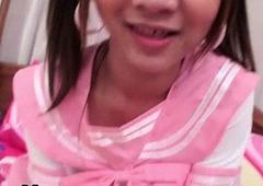 Tranniesgold Schoolgirl Hottie Rimming